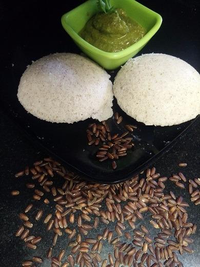 Black Rice Idli (Anti oxidant Rice)