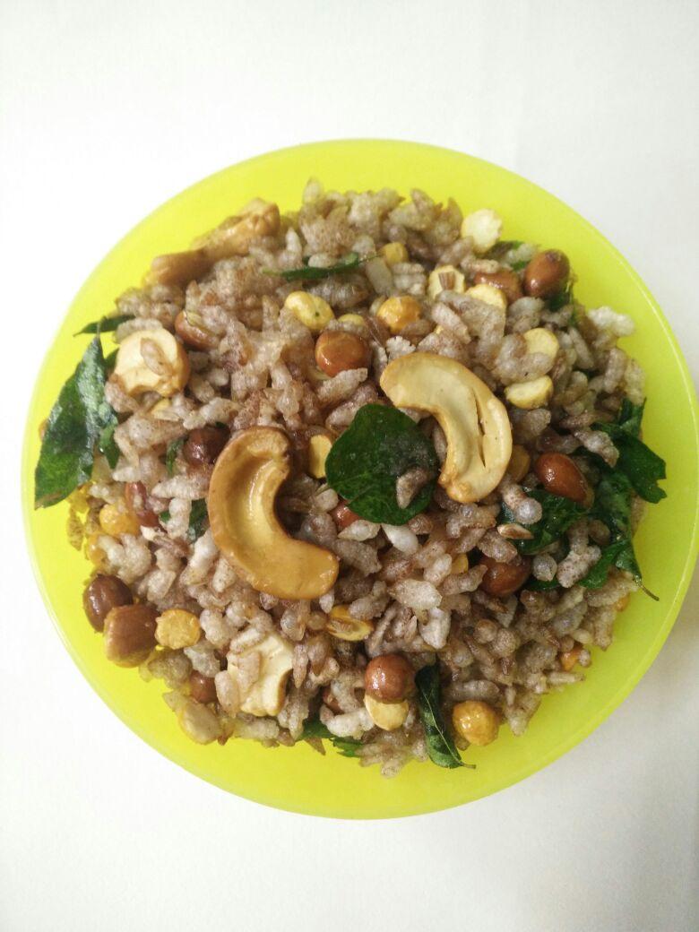 Immunity Aval/Poha Mixture –  Crunchy Snack