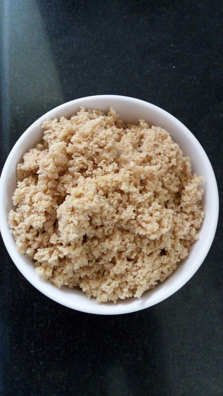 Rice Puttu with Palm jaggery