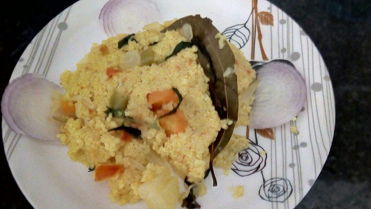 Little millet(samai) veg pulao