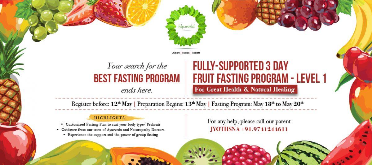 Fruit Fasting Program-LEVEL 1